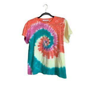 DayDreamer Tie Dye Tour T-Shirt S Muticolor